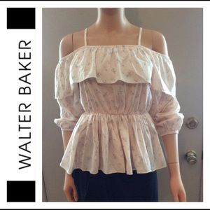 SALE❗️ NWT Walter Baker Cold Shoulder Blouse